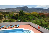 5 bedroom holiday villa with stunning views and private pool near Malaga, Costa del Sol