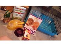 Hamster Cage & All Accessories