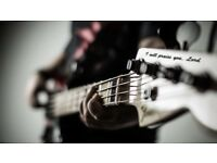 BASSIST URGENTLY NEEDED!