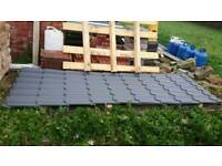 3x New steel roof sheets