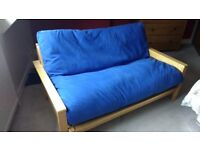 Double sofa bed by 'The futon company'