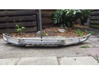 Audi Q7 S Line Bumper/Lip_ Sprayed in silver_Excellent condition