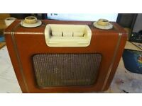 First Ever Ready Sky Leader Portable Transistor Radio Collectable