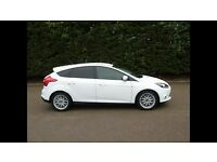 Nov 2012 White Ford Focus 1.6TDCI Zetec with Appearance Pack Stop/Start Full Service History 58k
