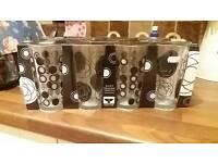 Set of 8 black and white glasses bnib