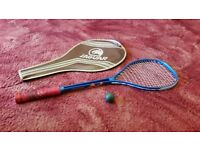 Good quality Slanzenger Panther Flyer Graphite squash racquet