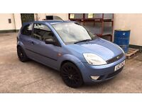 **2003 Ford Fiesta Zetec 1.4 Petrol with 1 years mot**