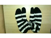 Hand made wool socks for ladies brand new