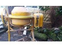 Clarke cement mixer