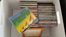 BOX OF 45 AMAZING CDS AND CD SINGLES FOR SALE! ;-)