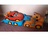 toy car trailer