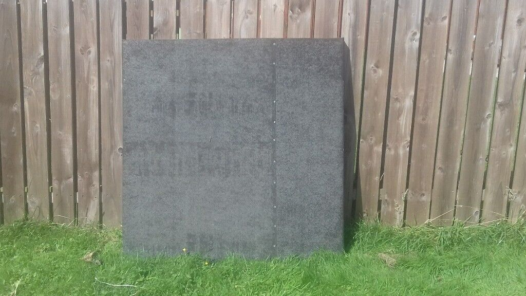 Large square felted framed lid for sand pit. Great cover for Winter.