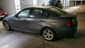 BMW 320i, petrol, Manuel, Grey, 5 door, red leather interior