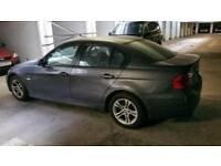 BMW 320i, petrol, Manuel, Grey, 5 door, red leather interior