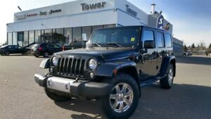 2015 Jeep WRANGLER UNLIMITED SAHARA - HEATED SEATS, RUNNING BOAR