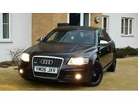 audi a6 2.7 tdi s line manual. black leathers. fsh