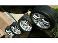 Audi a4 a5 a6 a7 original alloys wheels 5x112
