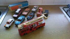 Matchbox Super King's Model Die cast cars