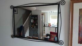 Black Metal mirror