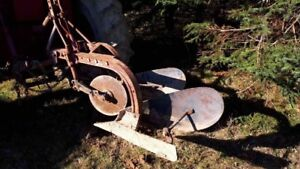 Three point hitch plow