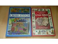 Activity 2 X Hardcover Cross Stitch Books