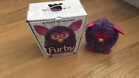 Voodoo Purple 2012 Furby, with box, excellent condition