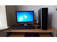 Fast Complete HP PC Wifi Windows 7 Office Dual Core Processor 4GB RAM 500GB HDD