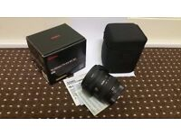 Canon fit Lens 10-20mm Supper wide angle Sigma Lens Brand New