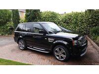 Outstanding Example Range Rover Sport in Pearl Black