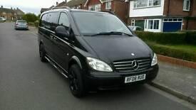 Mercedes Vito Dualiner 6 Seats Combi Crewvan 111CDI 150bhp NO VAT