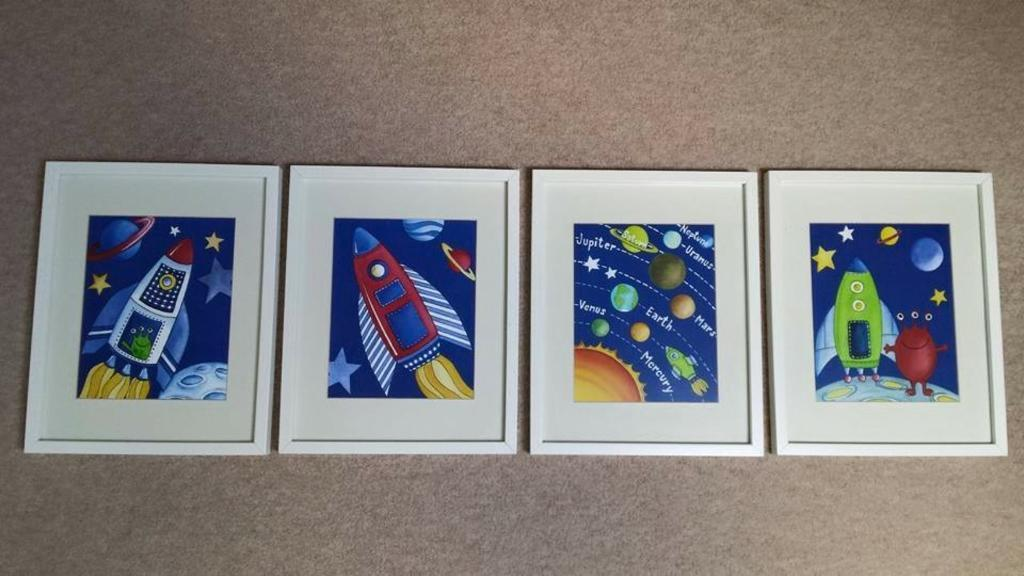 Space themed bedroom accessories. Space themed bedroom accessories   in Stotfold  Hertfordshire
