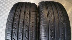 195 50 15 2 x tyres AutoGrip Grip1000