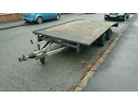 Ifor Williams car trailer