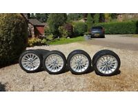 BMW Winter tyres with wheel rims