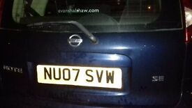 Nissan Note sell or swap for a Diesel
