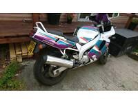 Fzr 600 foxeye yamaha sports bike