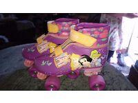 Girls Disney Princess Roller Skates size 13/1
