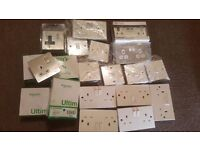 Sockets and Switches joblot NEW NEW NEW