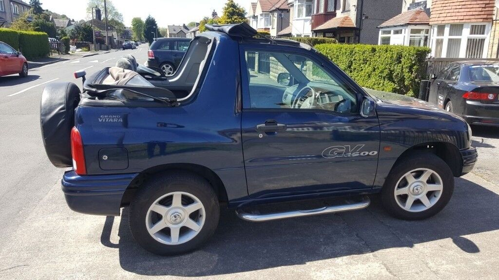 Fantastic 4x4 Convertible Suzuki Grand Vitara