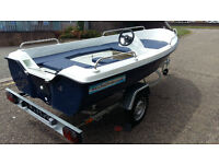 NEW FISHING BOAT 12 FT + TRAILER - THE BEST PRICE !!!