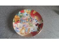 Alice in Wonderland collectors plate