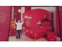 Manchester United Bed Canopy For Sale