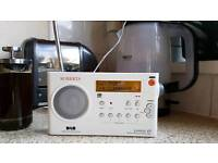 Roberts Gemini 49 DAB / FM Digital Portable Radio & Power Unit