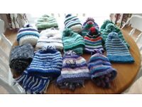Free... Childrens knitted Hats and Scarves