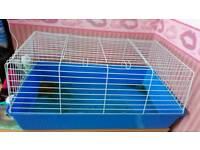 Blue Rabbit/Guinea Pig Cage