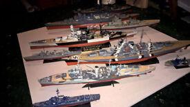 Model Warships (WW2)