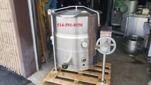 Marmite a Vapeur Market Forge Steam Pot Kettle 40 Gallon Tilting / Baculante / Electrique , Electric