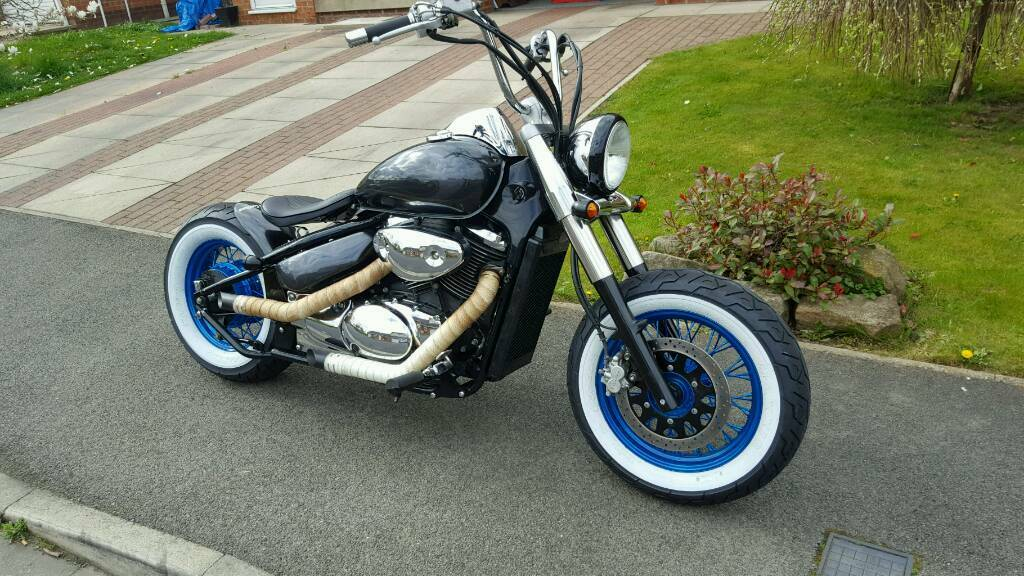 suzuki vl 800 volusia bobber in newton aycliffe county. Black Bedroom Furniture Sets. Home Design Ideas