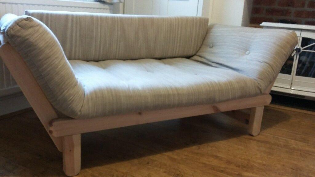 Twingle Sofa Bed Futon Oatmeal