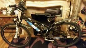 """Diamondback DBR Vibe 26"""" Wheel Dirt Jump Bike in Black 14"""" Frame"""